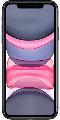 Apple iPhone 11 Noir Face